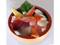 海鮮丼1800円